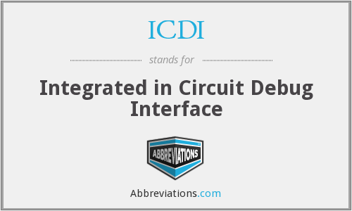 ICDI - Integrated in Circuit Debug Interface