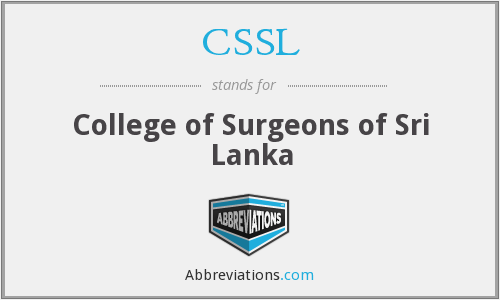 What does CSSL stand for?