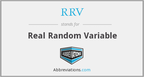 RRV - Real Random Variable