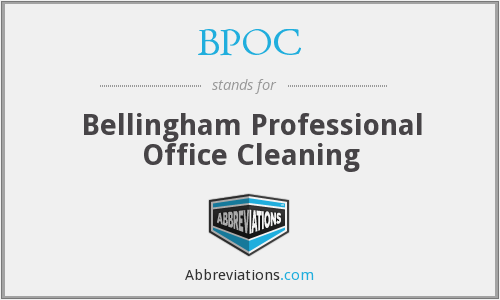 BPOC - Bellingham Professional Office Cleaning