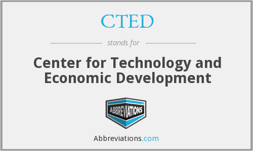 What does CTED stand for?