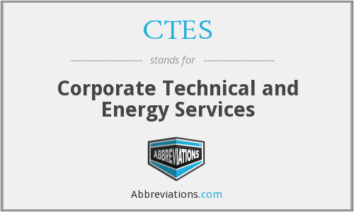 What does CTES stand for?