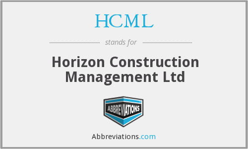 HCML - Horizon Construction Management Ltd