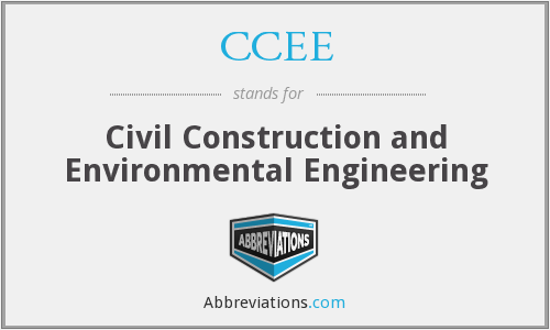 CCEE - Civil Construction and Environmental Engineering