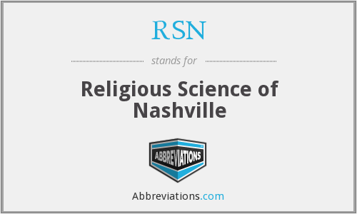 RSN - Religious Science of Nashville