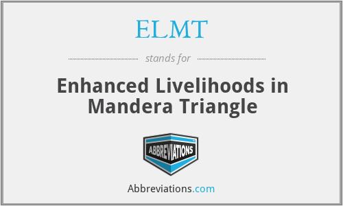 ELMT - Enhanced Livelihoods in Mandera Triangle