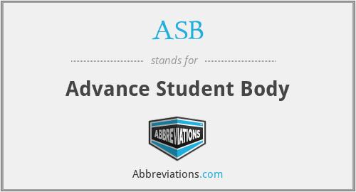 ASB - Advance Student Body