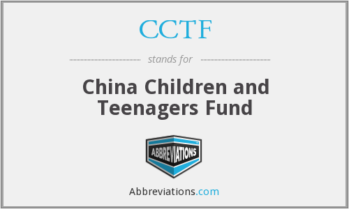 What does CCTF stand for?