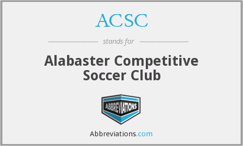 ACSC - Alabaster Competitive Soccer Club