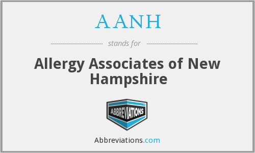 AANH - Allergy Associates of New Hampshire