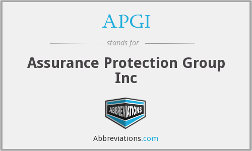 APGI - Assurance Protection Group Inc