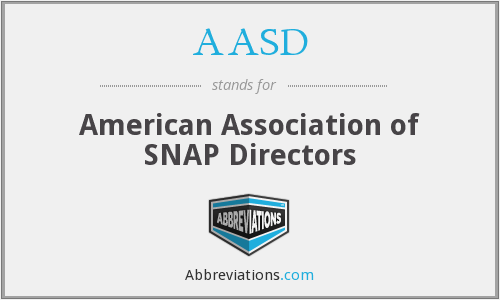 AASD - American Association of SNAP Directors