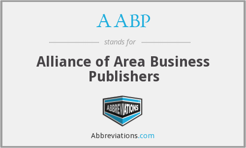AABP - Alliance of Area Business Publishers