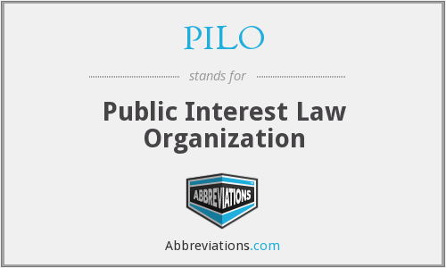 What does PILO stand for?