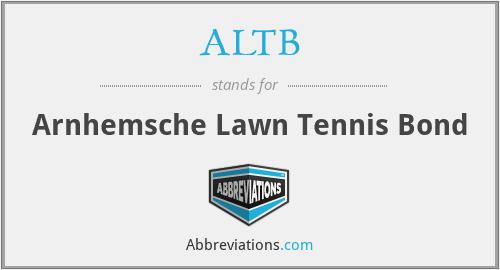 ALTB - Arnhemsche Lawn Tennis Bond