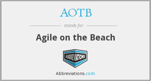 AOTB - Agile on the Beach