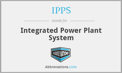 IPPS - Integrated Power Plant System