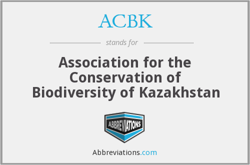 What does ACBK stand for?