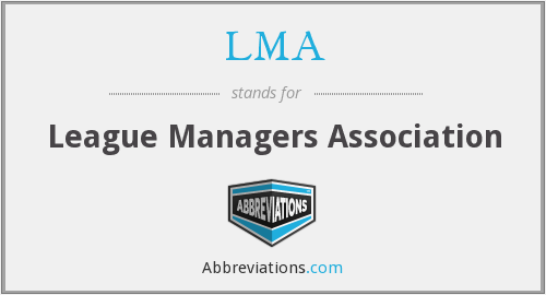 LMA - League Managers Association