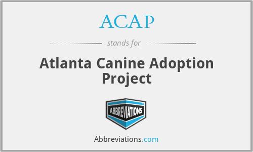 ACAP - Atlanta Canine Adoption Project