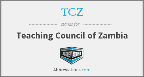 What does TCZ stand for?