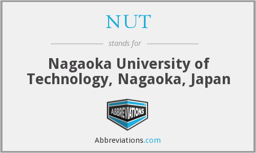 NUT - Nagaoka University of Technology, Nagaoka, Japan
