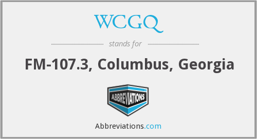 What does WCGQ stand for?