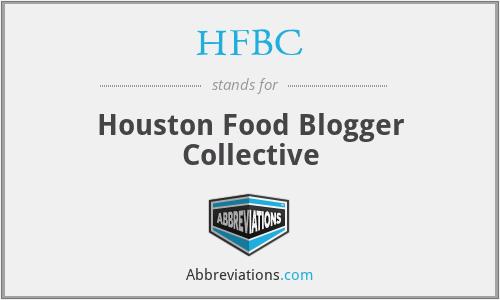 HFBC - Houston Food Blogger Collective