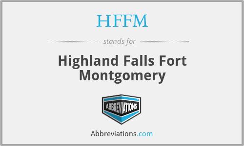 HFFM - Highland Falls Fort Montgomery