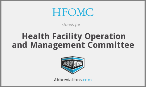 What does HFOMC stand for?
