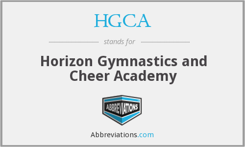 HGCA - Horizon Gymnastics and Cheer Academy
