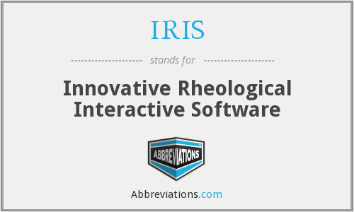 IRIS - Innovative Rheological Interactive Software