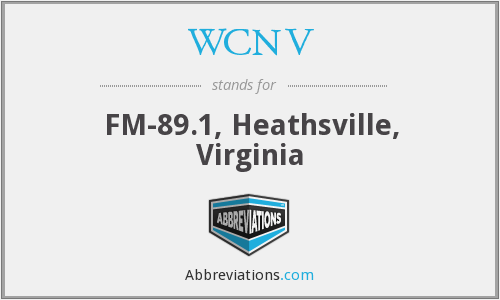 WCNV - FM-89.1, Heathsville, Virginia