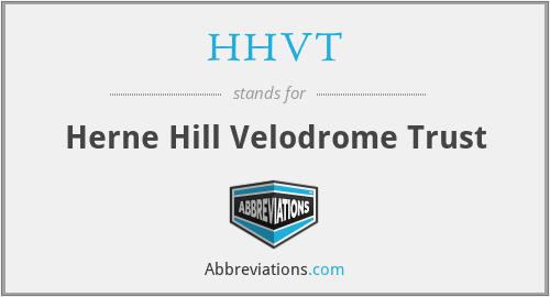 HHVT - Herne Hill Velodrome Trust