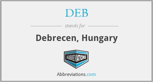 DEB - Debrecen, Hungary