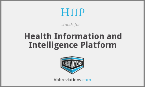 What does HIIP stand for?