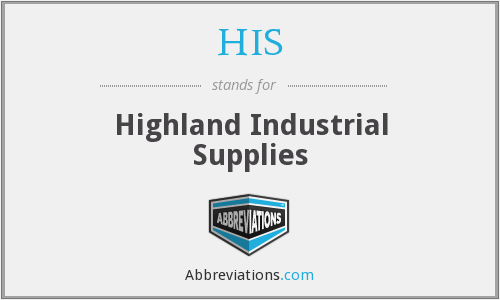 HIS - Highland Industrial Supplies