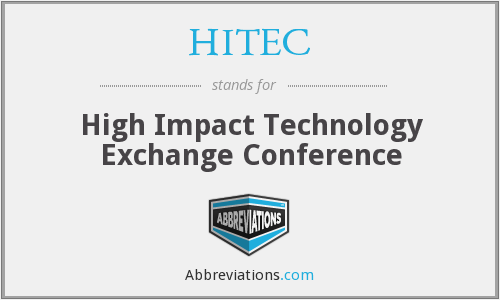 What does HITEC stand for?