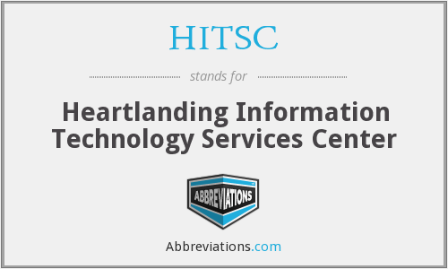 What does HITSC stand for?