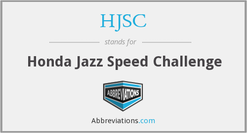 HJSC - Honda Jazz Speed Challenge