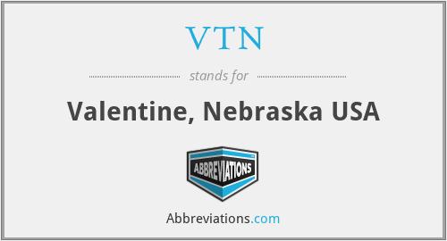 VTN - Valentine, Nebraska USA
