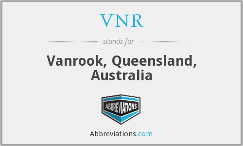 VNR - Vanrook, Queensland, Australia