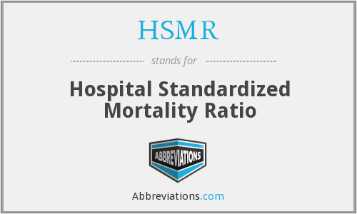 What does HSMR stand for?