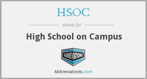 What does HSOC stand for?