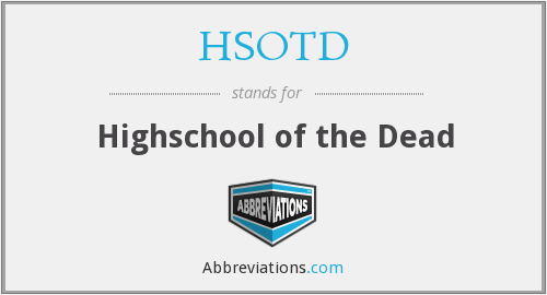 What does HSOTD stand for?