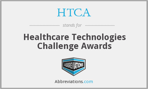 HTCA - Healthcare Technologies Challenge Awards