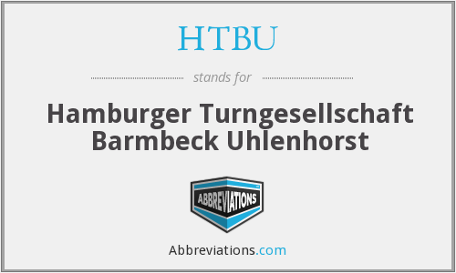 HTBU - Hamburger Turngesellschaft Barmbeck Uhlenhorst