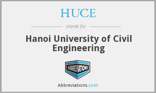 HUCE - Hanoi University of Civil Engineering