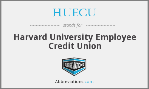 What does HUECU stand for?