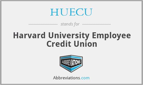 HUECU - Harvard University Employee Credit Union